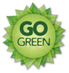 Reduce your waste and go green with digital signage.